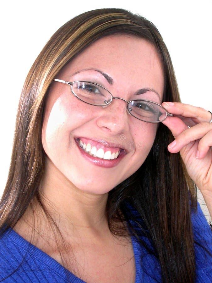 De dienst met een Glimlach stock afbeeldingen
