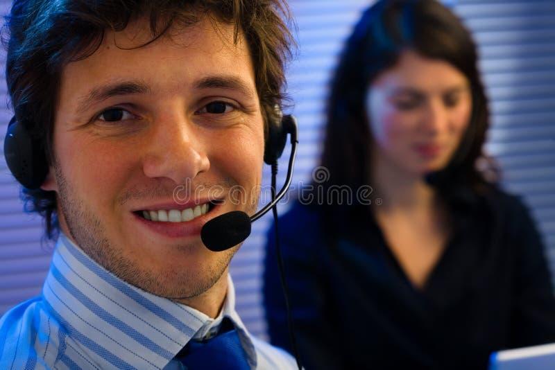 De Dienst van de klant stock foto