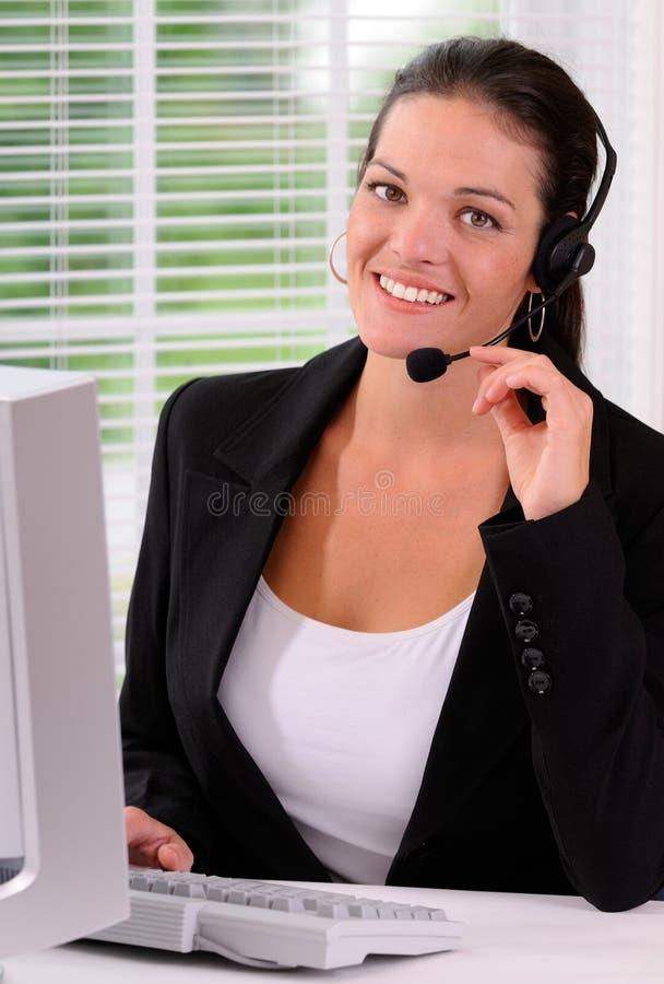 De Dienst van de klant stock foto's