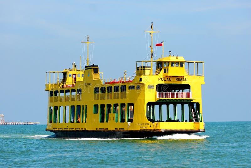 De Dienst van de Veerboot van Penang stock fotografie
