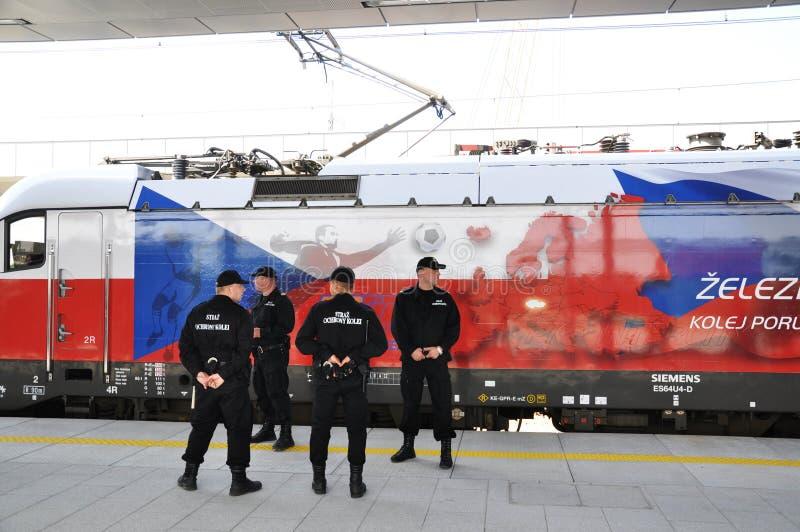De Dienst van de Veiligheid van de spoorweg royalty-vrije stock foto