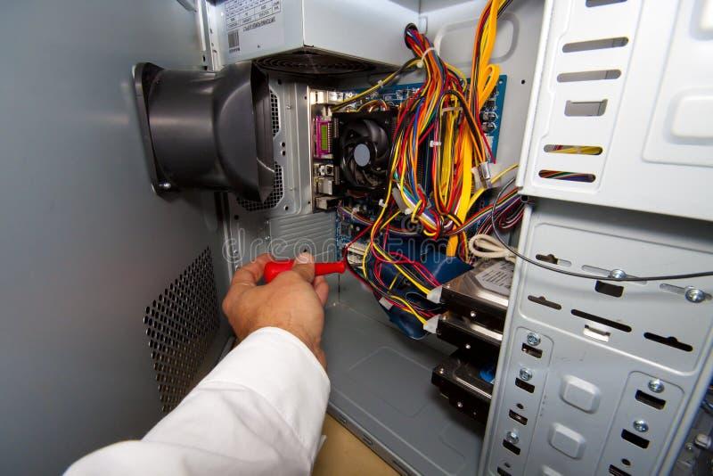 De dienst van PC stock afbeeldingen