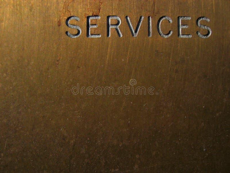 De diensten royalty-vrije stock afbeeldingen