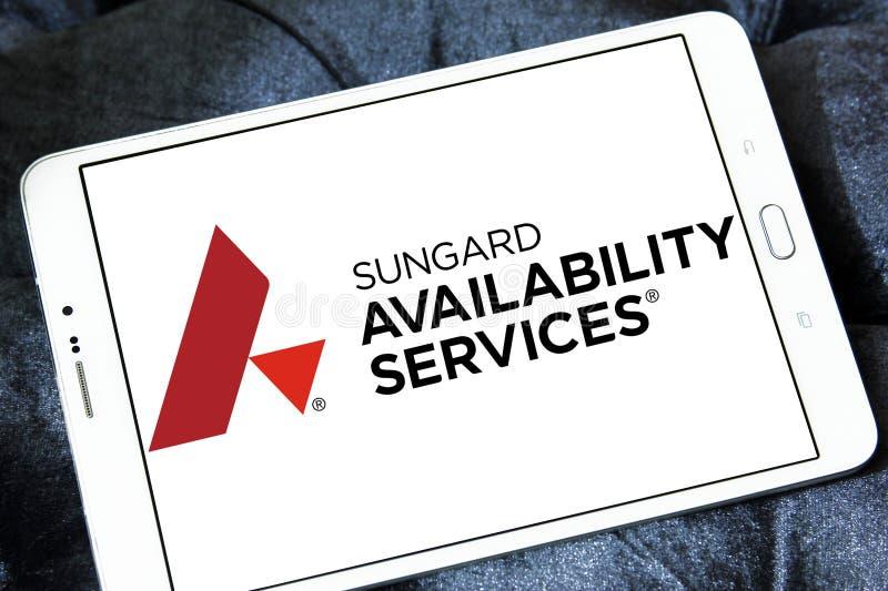De Dienstenembleem van de Sungardbeschikbaarheid royalty-vrije stock foto's