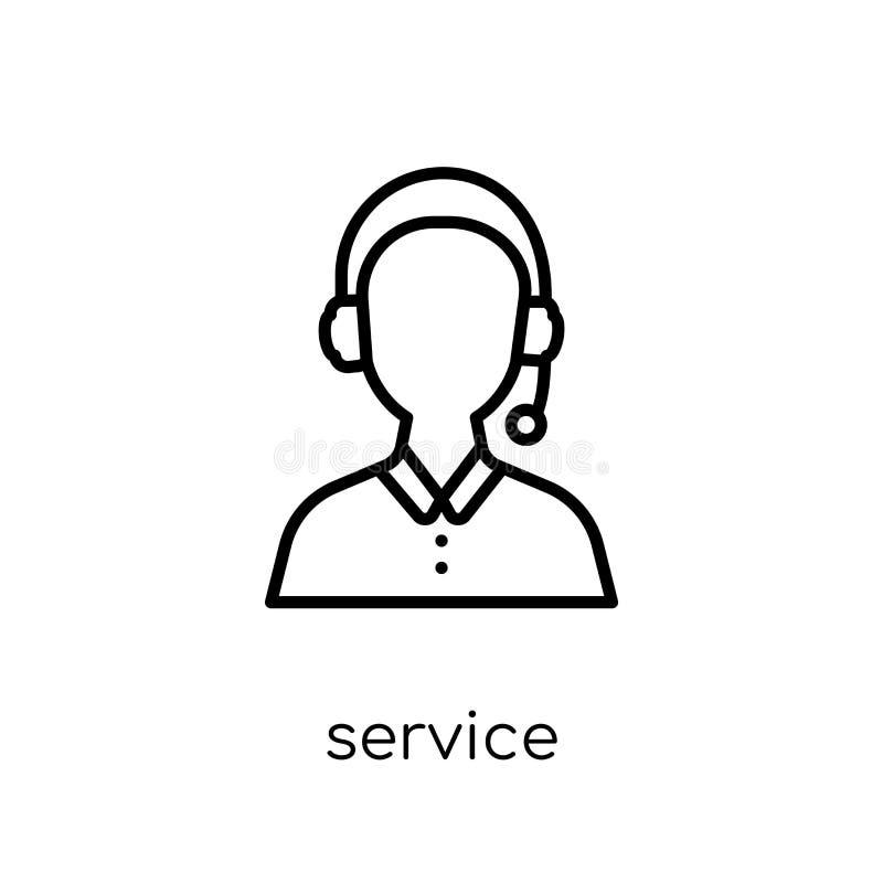 De dienstpictogram  stock illustratie