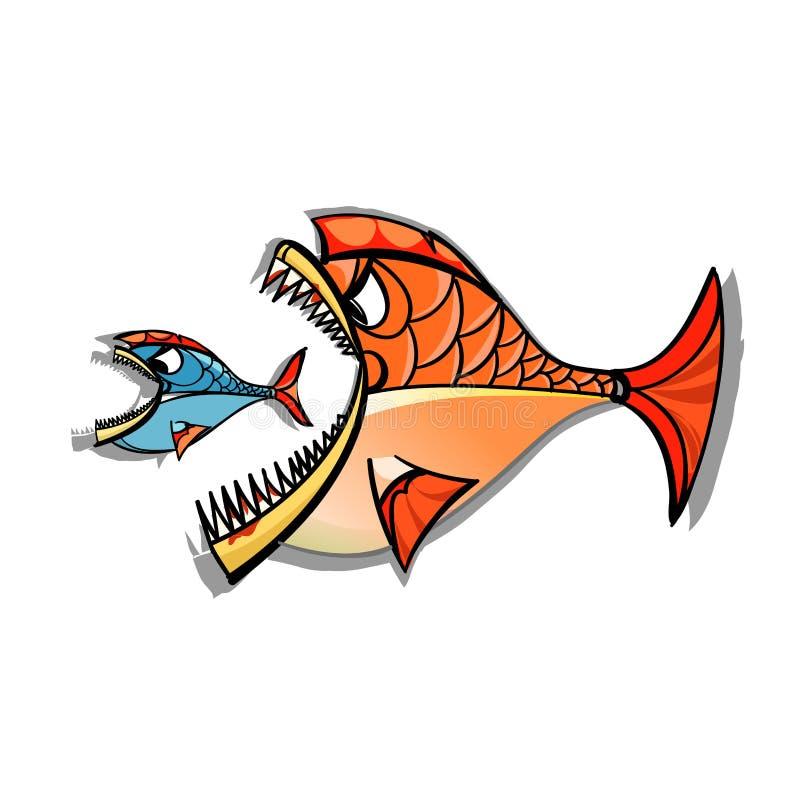 De dierenriem van Vissen royalty-vrije illustratie