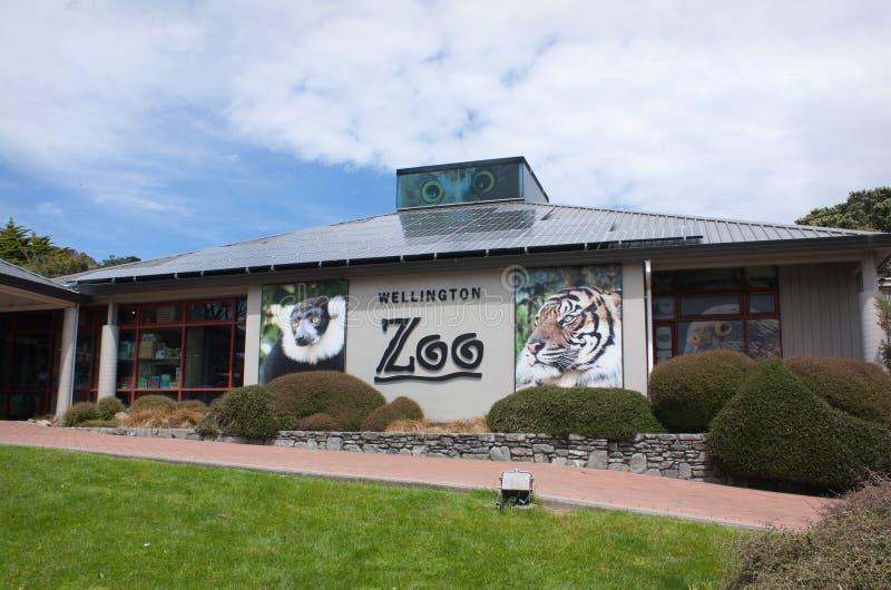 De dierentuin van Wellington stock foto