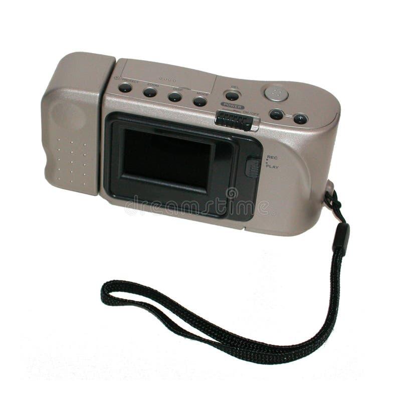 De digitale camera van de zak stock afbeelding