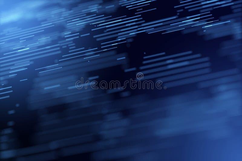 De digitale grafische computer geproduceerde achtergrond van het het exemplaar ruimteonduidelijke beeld van de energiemotie vector illustratie
