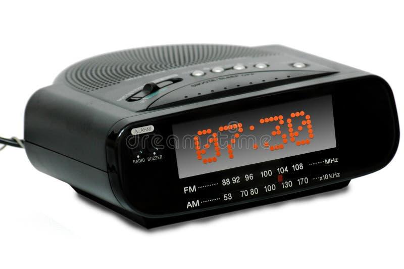 De digitale radioklok van het Alarm royalty-vrije stock afbeelding