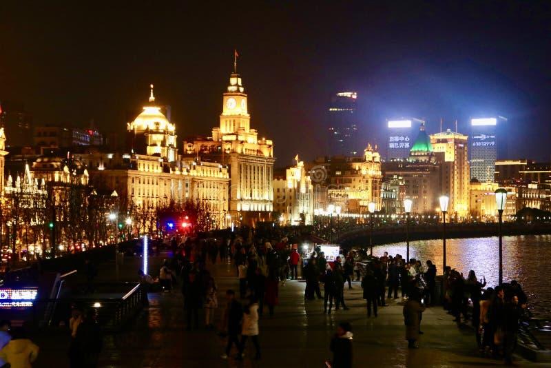 De dijk, Shanghai royalty-vrije stock foto