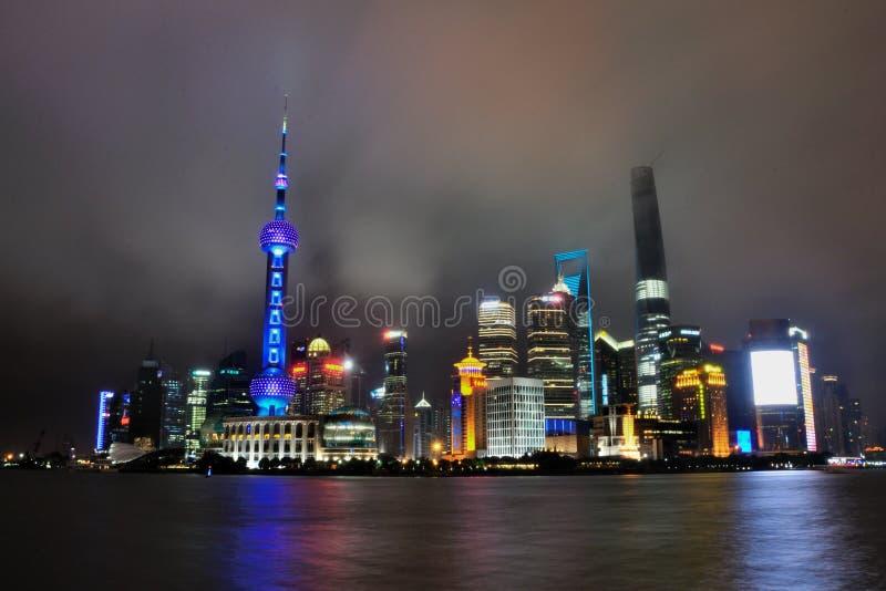 De Dijk in Shanghai China royalty-vrije stock afbeelding