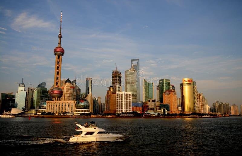 De dijk van Shanghai royalty-vrije stock foto
