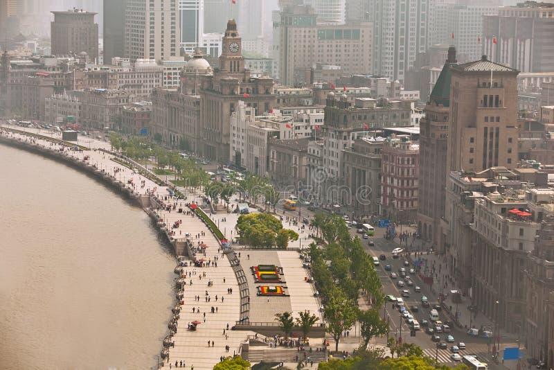 De Dijk van Shanghai royalty-vrije stock afbeeldingen