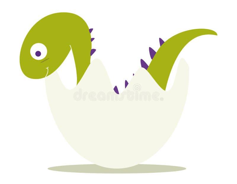 De dinosaurus van de baby vector illustratie