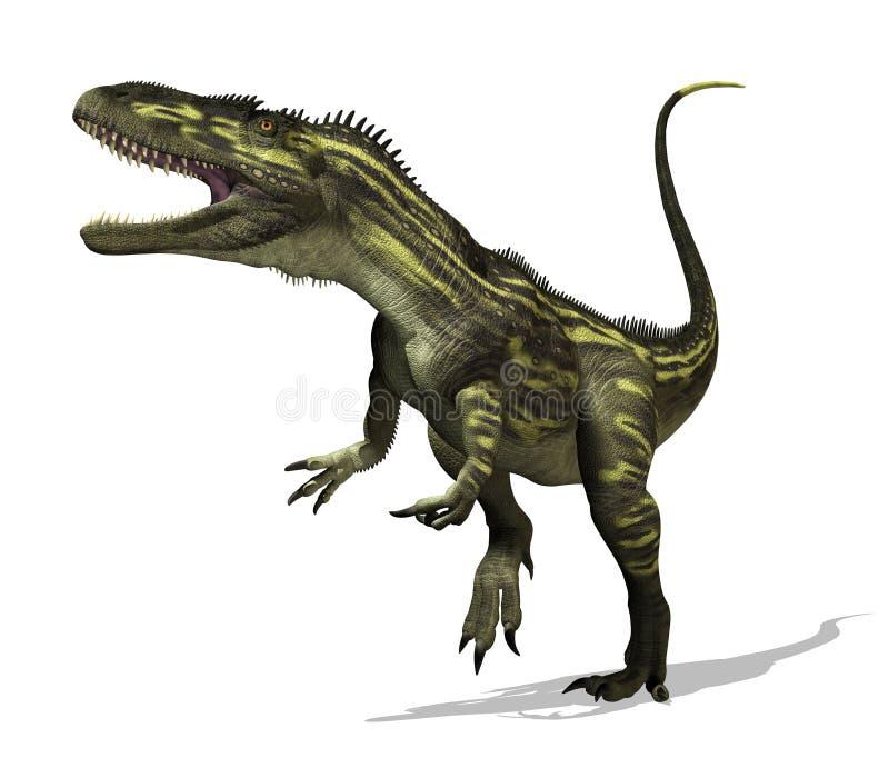De Dinosaurus van Torvosaurus royalty-vrije illustratie