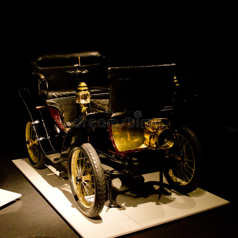 Free De Dion Bouton 3.5-HP Vis-a-vis At Louwman Museum Royalty Free Stock Photography - 66915097
