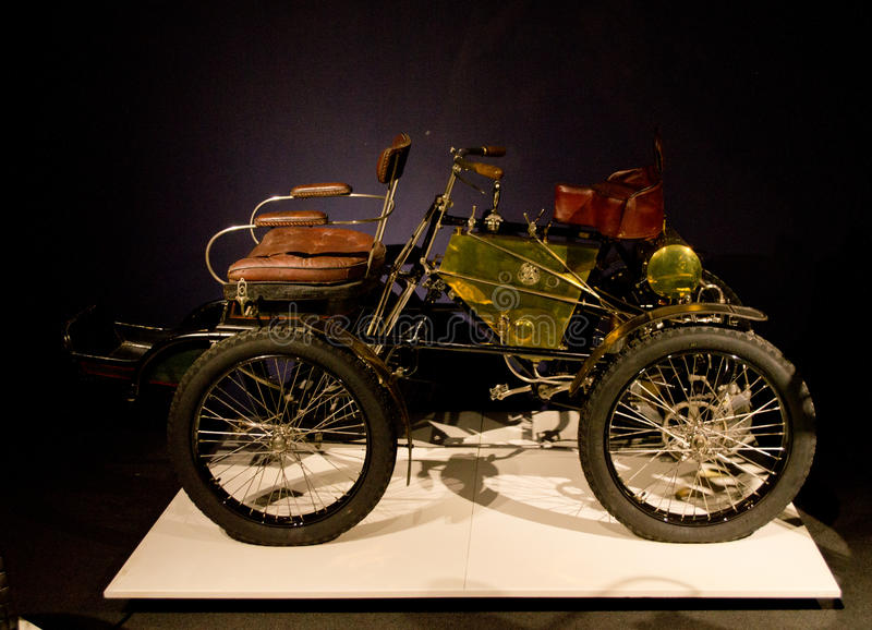 De Dion Bouton Quadricycle an Louwman-Museum stockbilder