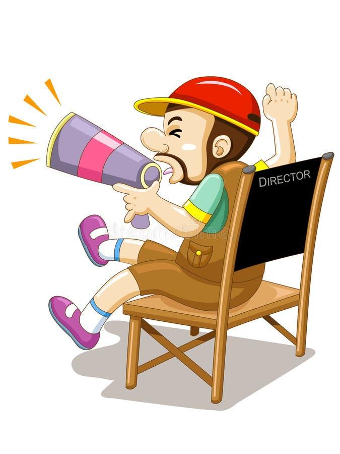 De directeur stock illustratie