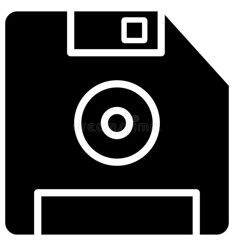 De diskette isoleerde Vectorpictogram dat zich gemakkelijk kan wijzigen of uitgeven stock illustratie