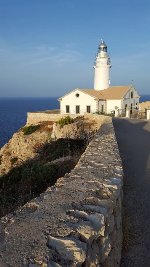 De distante Capdepera Mallorca fotos de stock
