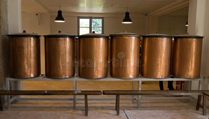 De distillateur van het Fragonardparfum royalty-vrije stock fotografie
