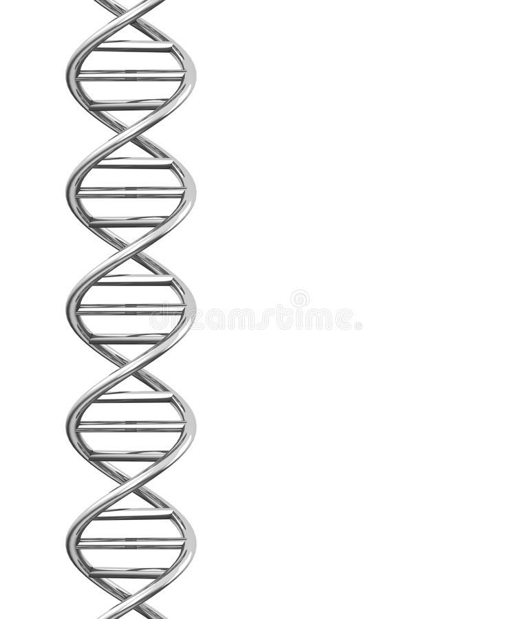 De DNA-schroef stock illustratie