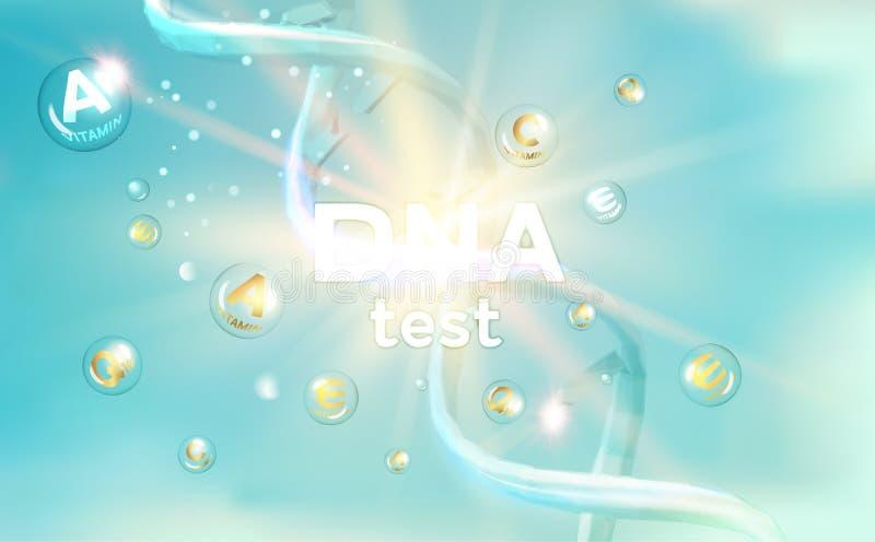 De DNA-Test vector illustratie