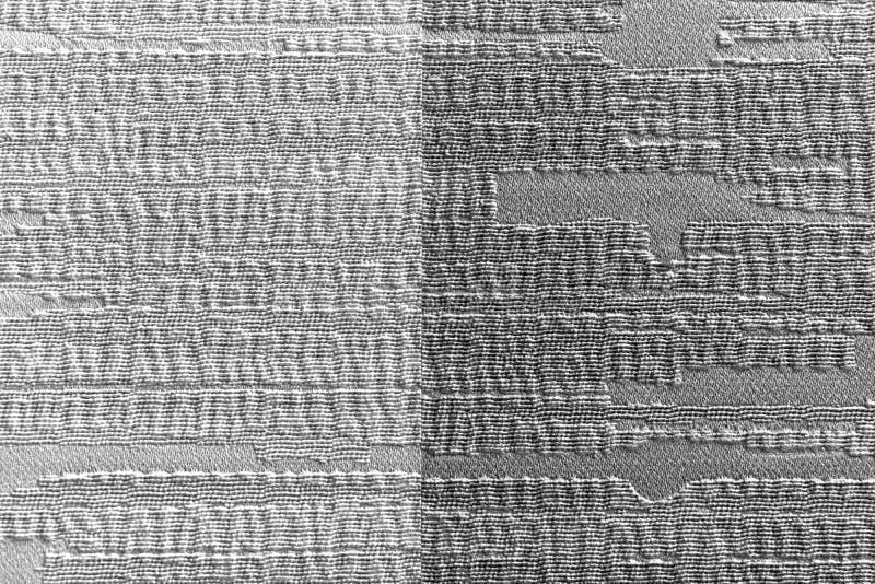 De document Behangtextuur is licht en donker grijs op de muuroppervlakte royalty-vrije stock foto's