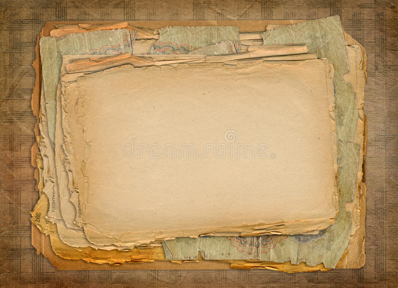 De documenten van Grunge ontwerp vector illustratie