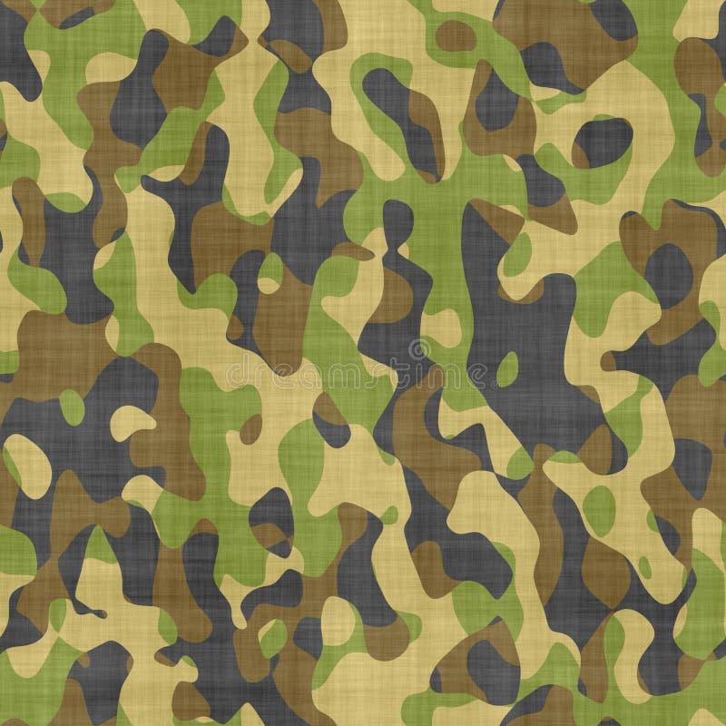 De doekpatroon van de camouflage royalty-vrije illustratie