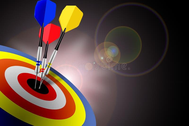 De Doelstellingen van de marketing stock illustratie