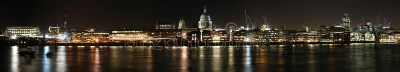De dokkenpanorama van Londen