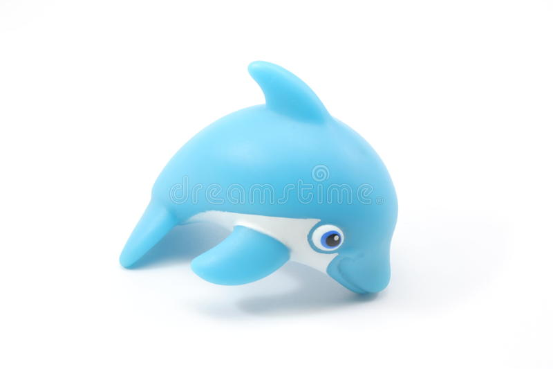 De Dolfijn van het stuk speelgoed royalty-vrije stock afbeelding