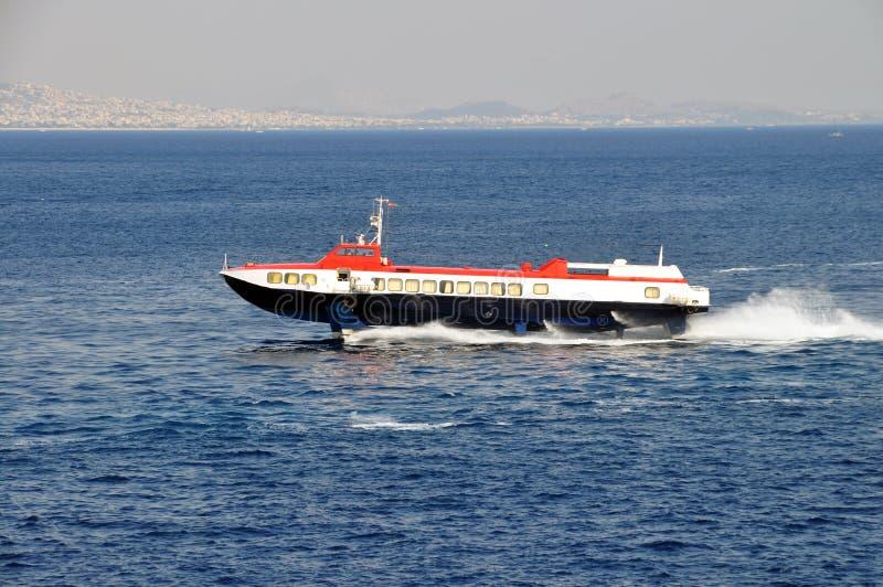 De dolfijnboot van Hispeed royalty-vrije stock foto's