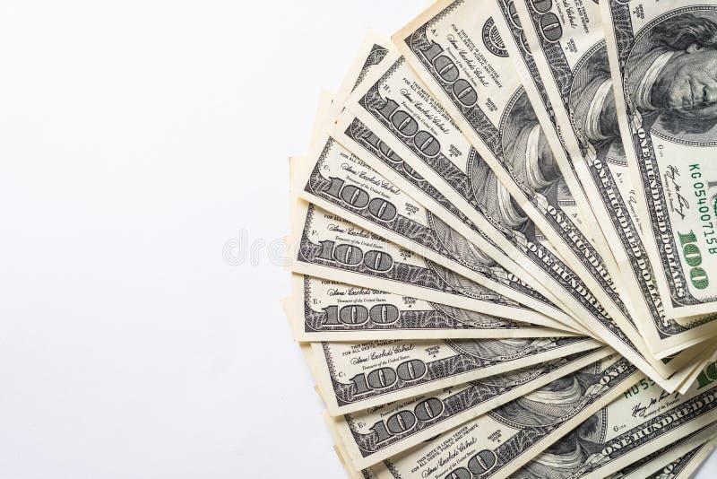 De dollar van het contant geldgeld royalty-vrije stock afbeeldingen