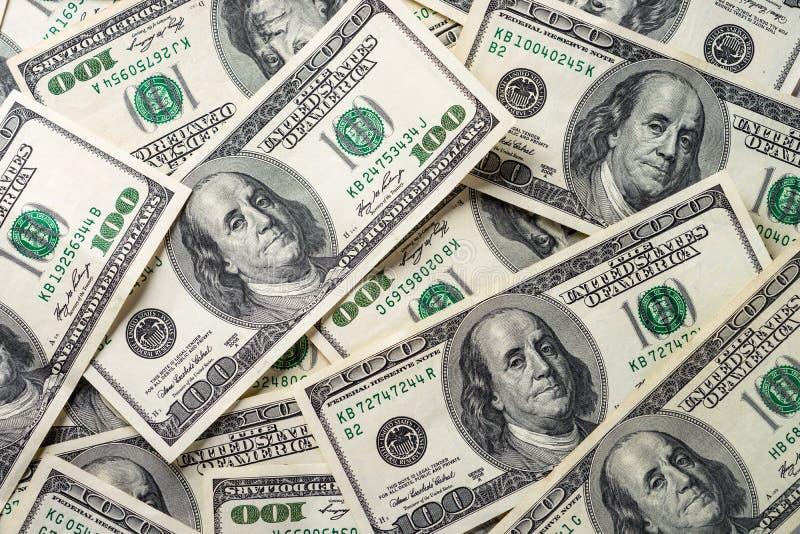 De dollar van het contant geldgeld stock foto