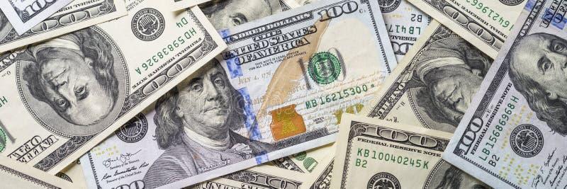 De dollar van het contant geldgeld royalty-vrije stock foto
