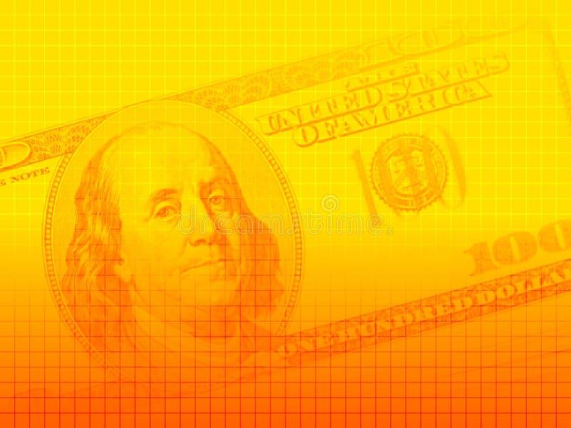 De dollarreeks 1 van de V.S. vector illustratie