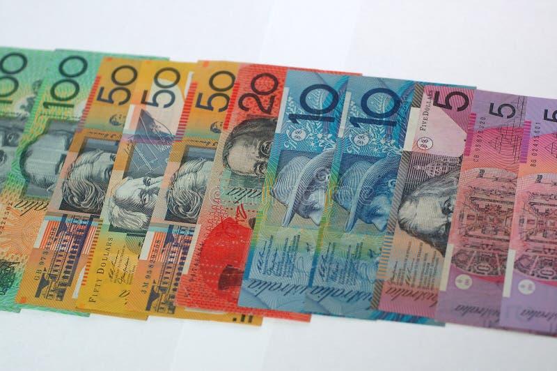 De Dollars van Australië stock foto