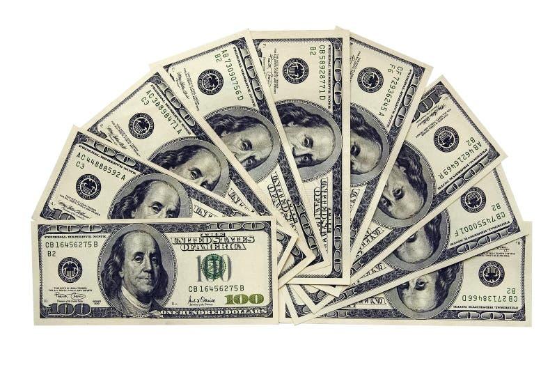 De dollars van de V.S. royalty-vrije stock afbeelding