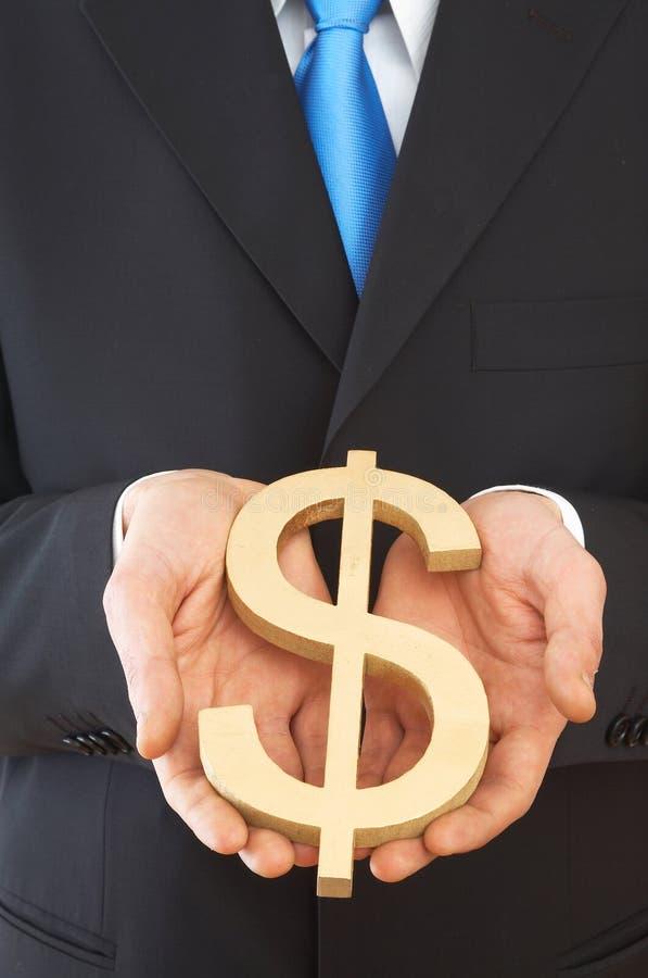 De dollarteken van de V.S. stock foto's