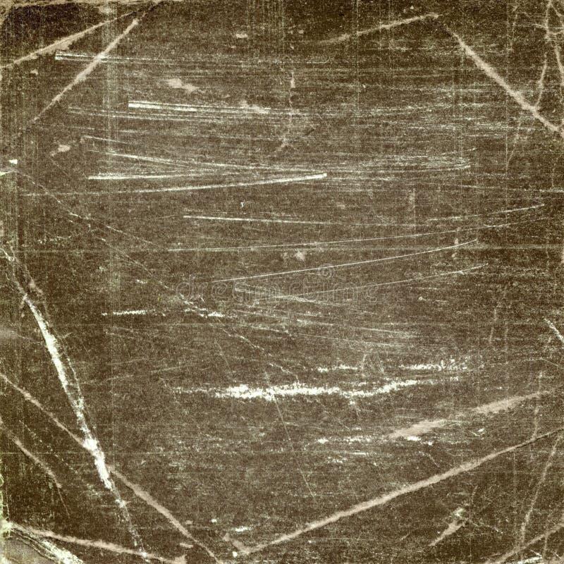De donkere achtergrond van Grunge met krassen voor ontwerp royalty-vrije stock afbeelding