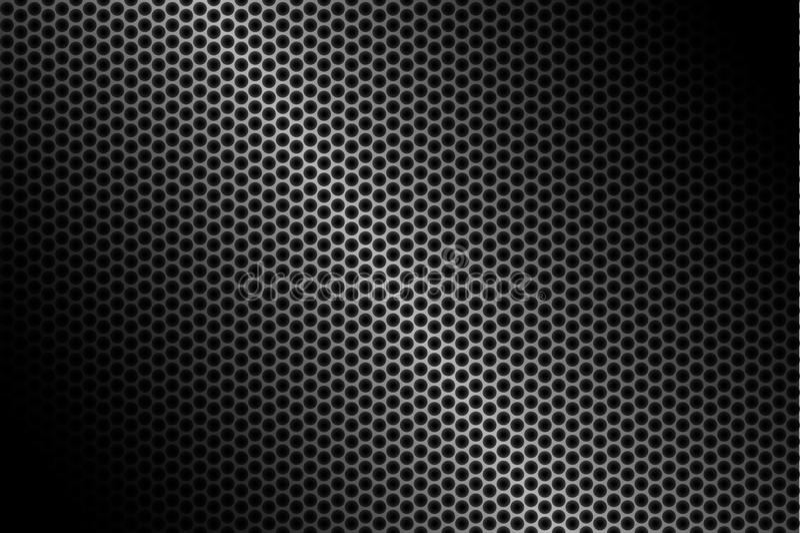De donkere achtergrond van de koolstofvezel, voorraad vectorillustratie stock illustratie