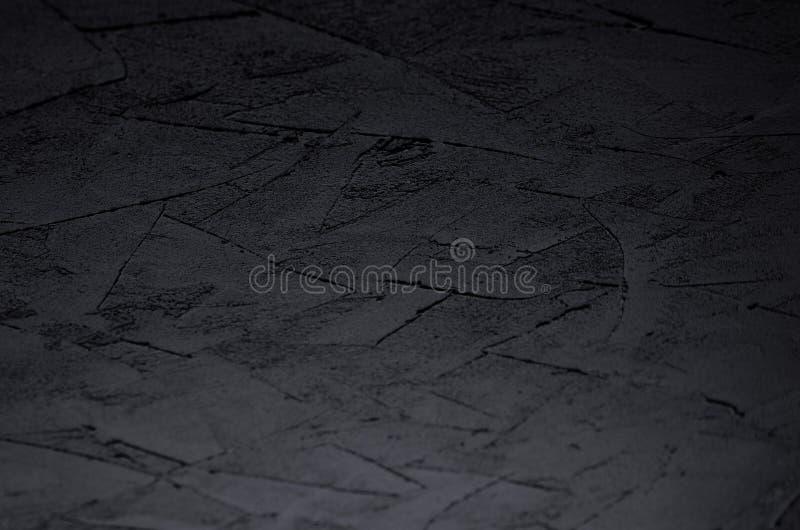 De donkere grijze muur van de grunge ruwe concrete textuur met onduidelijk beeldband royalty-vrije stock foto