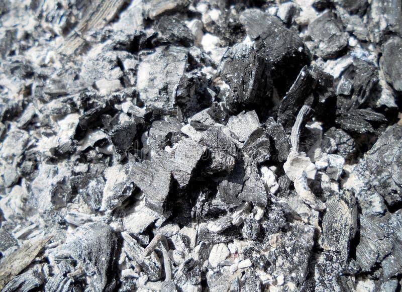 De donkere steenkolen stock illustratie