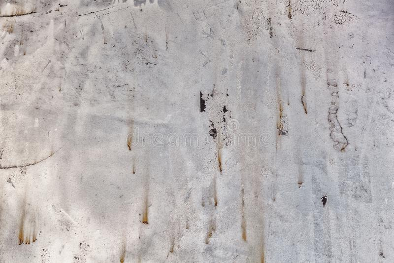 De donkergrijze roestige achtergrond van de metaaltextuur Uitstekend Effect stock afbeelding