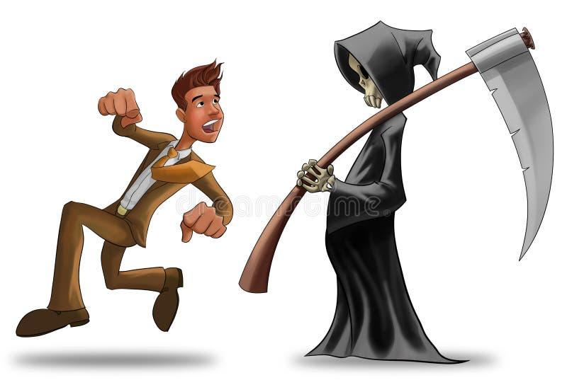 De dood royalty-vrije illustratie