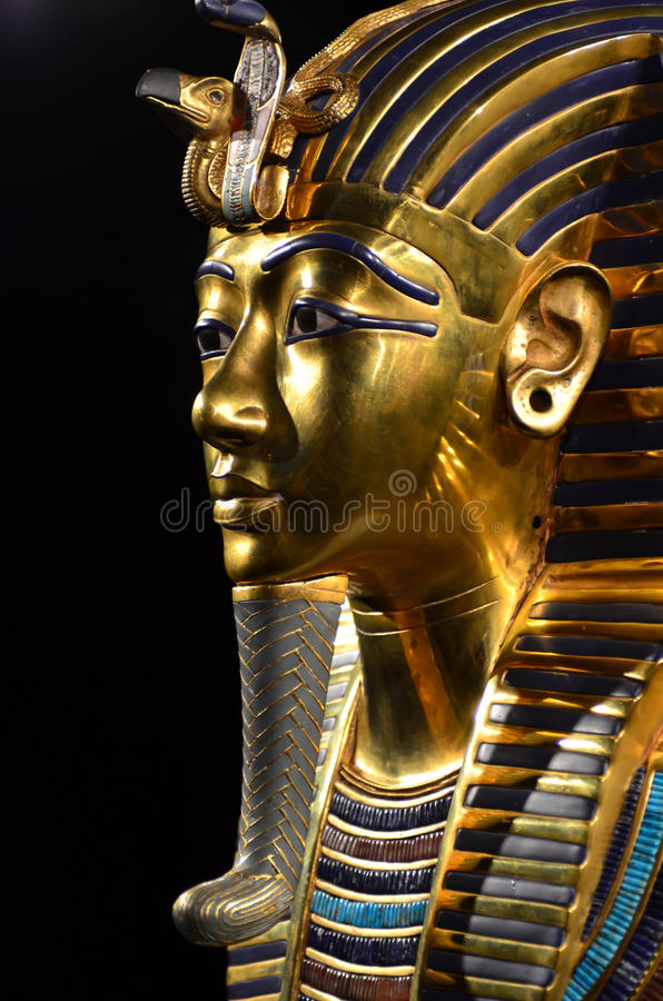 De Doodsmasker van Tutankhamen stock fotografie