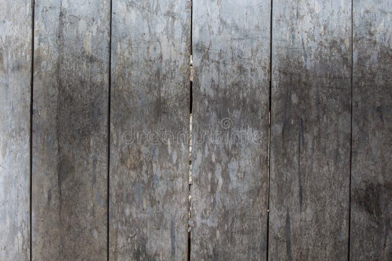 De doorstane grijze houten achtergrond van de vloerfoto Rustieke houten plankclose-up royalty-vrije stock afbeeldingen